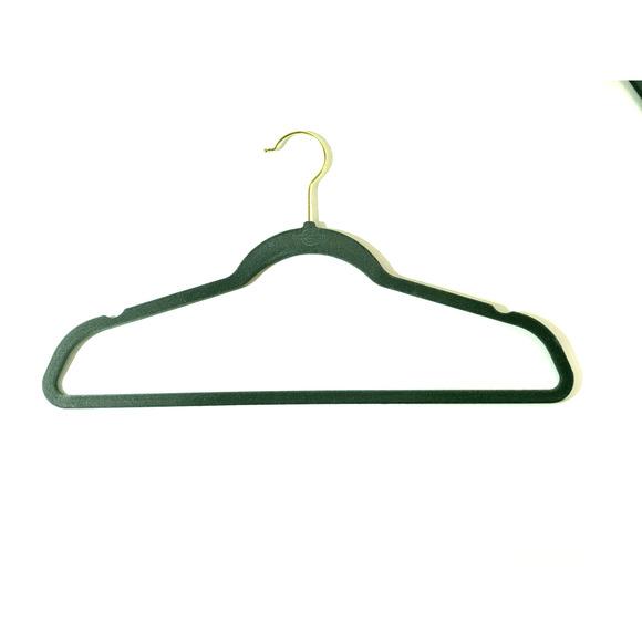 Gray Flat Brass Hangers